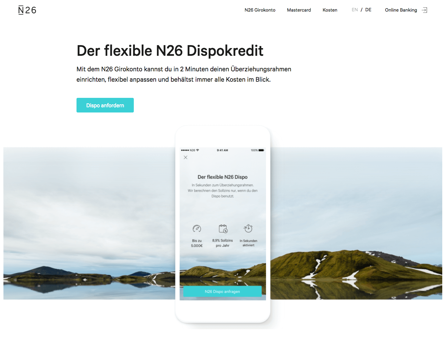 n26 dispokredit