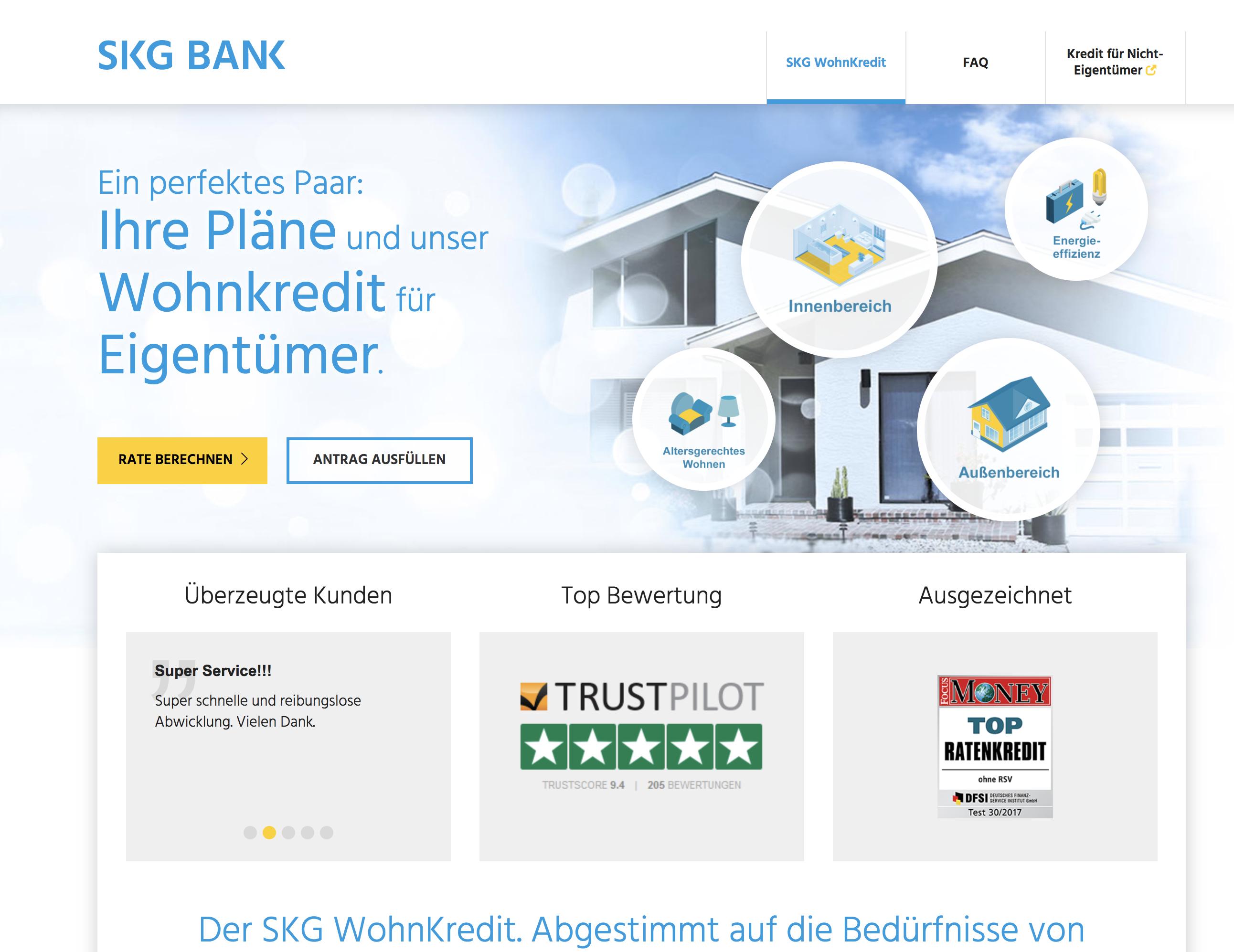 skg Bank wohnkredit