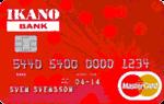 Ikano Bank - Rote MasterCard