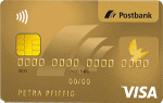 Postbank - Visa Card Gold