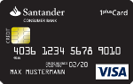 Santander - 1plus Visa-Card 1