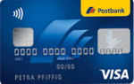 Postbank - VISA Card zum Giro extra plus